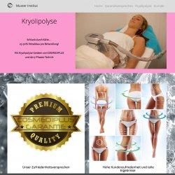 Kryolipolyse Muster Institut Homepage